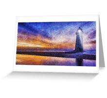 Talacre Lighthouse Greeting Card