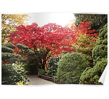 Butchart Gardens : Japenese Garden Poster