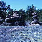 Rock formations on the Åland Islands by homesick