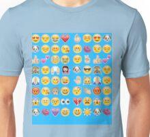 blue emoji Unisex T-Shirt
