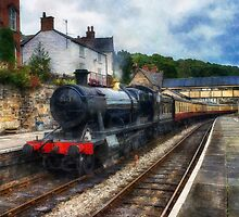 Steam Train Journey by Ian Mitchell