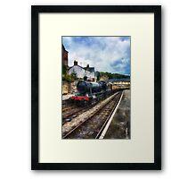 Steam Train Journey Framed Print