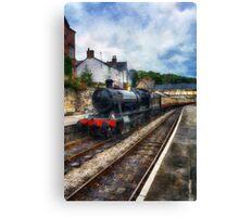 Steam Train Journey Canvas Print