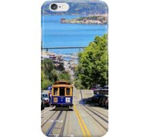 Hyde Street Cablecar - San Francisco, California, USA iPhone Case/Skin