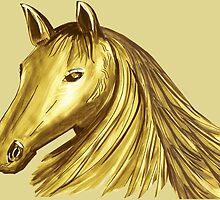 Horse Mane 4 by Thecla Correya