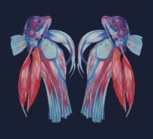 Siamese Fighting Fishes Kids Clothes