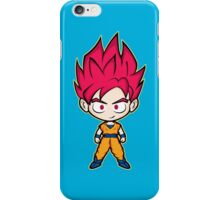 Son Goku SSG - blue iPhone Case/Skin