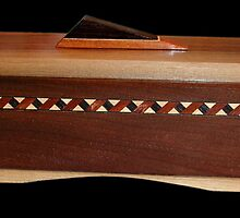 Keepsake Box No. 63 by Robert's Woodworking Studio