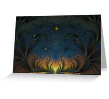 Towards the morning star Greeting Card