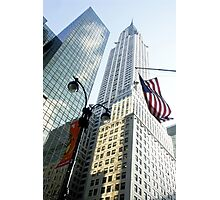 Chrysler Building New York Photographic Print