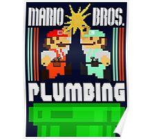 Mario Bros. Plumbing  Poster