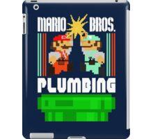 Mario Bros. Plumbing  iPad Case/Skin
