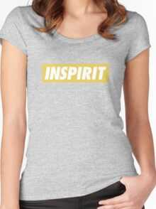 Infinite Fandom 'INSPIRIT' Women's Fitted Scoop T-Shirt