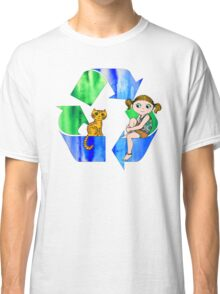 Live Like You Love the Planet Classic T-Shirt