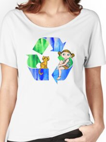 Live Like You Love the Planet Women's Relaxed Fit T-Shirt