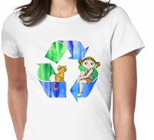 Live Like You Love the Planet Womens Fitted T-Shirt