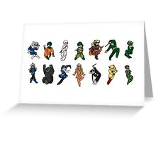 Flash Rogues Gallery Greeting Card