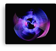 Digital art abstract composition suitable for background Canvas Print