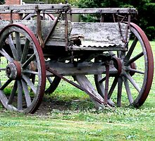 Old wagon by Janette Anderson
