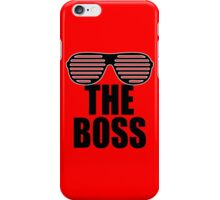 The Boss of the Crop iPhone Case/Skin