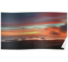 Cadillac Mountain Sunrise 5  Poster