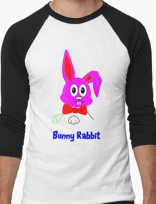 I'm a Cute Little Bunny Rabbit - Can't You See? Men's Baseball ¾ T-Shirt