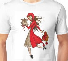 Blood Red Riding Hood Unisex T-Shirt