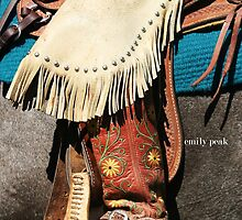 Cowgirl Buckaroo by Emily Peak
