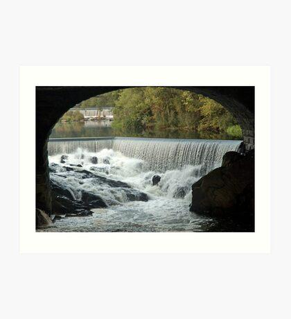 Double Falls Art Print