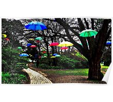 Umbrella Walk of Fame Poster