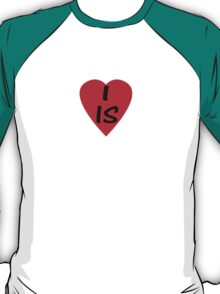 I Love Iceland - Country Code IS T-Shirt & Sticker T-Shirt