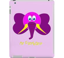 Mr Elephant T-shirt, etc design iPad Case/Skin