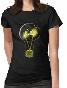 PIkalight Umbrenation  Womens Fitted T-Shirt