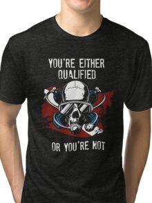 Scuba diving EXPERT  Tri-blend T-Shirt