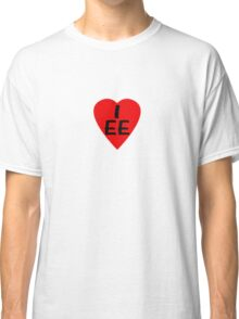 I Love Estonia - Country Code EE T-Shirt & Sticker Classic T-Shirt