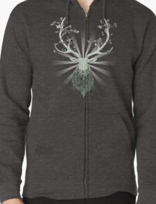 All-Natural Zipped Hoodie