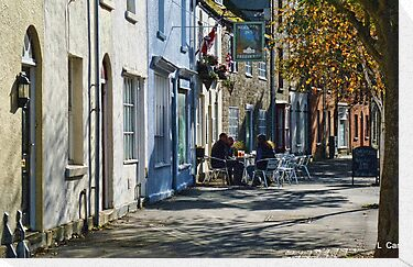 Street Scene In Bridport Dorset, UK by lynn carter