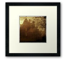 Sinister House Framed Print
