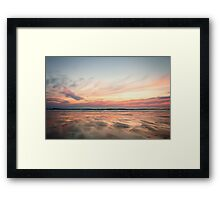 Woolacombe at Dusk Framed Print