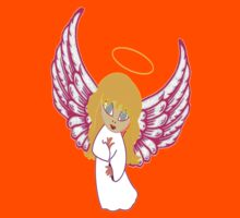 A Child Angel T-shirt, etc. design Kids Tee