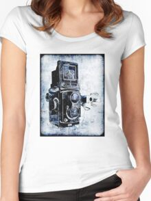My Yashica Women's Fitted Scoop T-Shirt