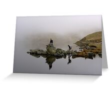 Reflective Moods Greeting Card