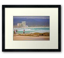 Surf snappers Framed Print