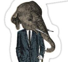Elephant man Sticker