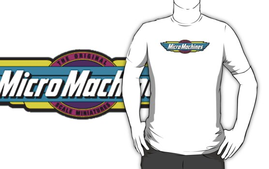 Micro Machines Logo by warbirdwear