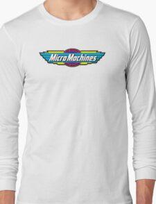 Micro Machines Logo Long Sleeve T-Shirt