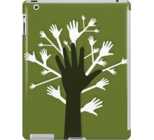 Hand a tree iPad Case/Skin