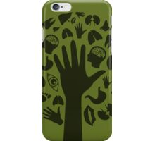 Hand a tree3 iPhone Case/Skin