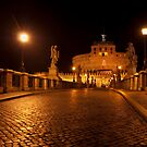 Sant'Angelo by night by Aleksandra Misic