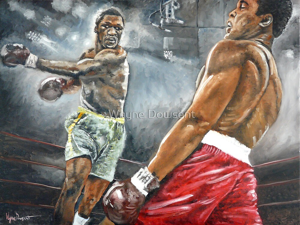 FIGHT OF THE CENTURY by Wayne Dowsent